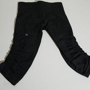Lululemon crop leggins N6